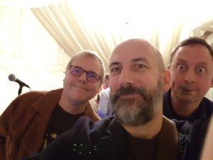 Me, Matt and Donald Walnutnt